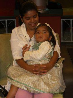 Tras una incansable búsqueda, Anna encontró a su hija después de 14 meses.