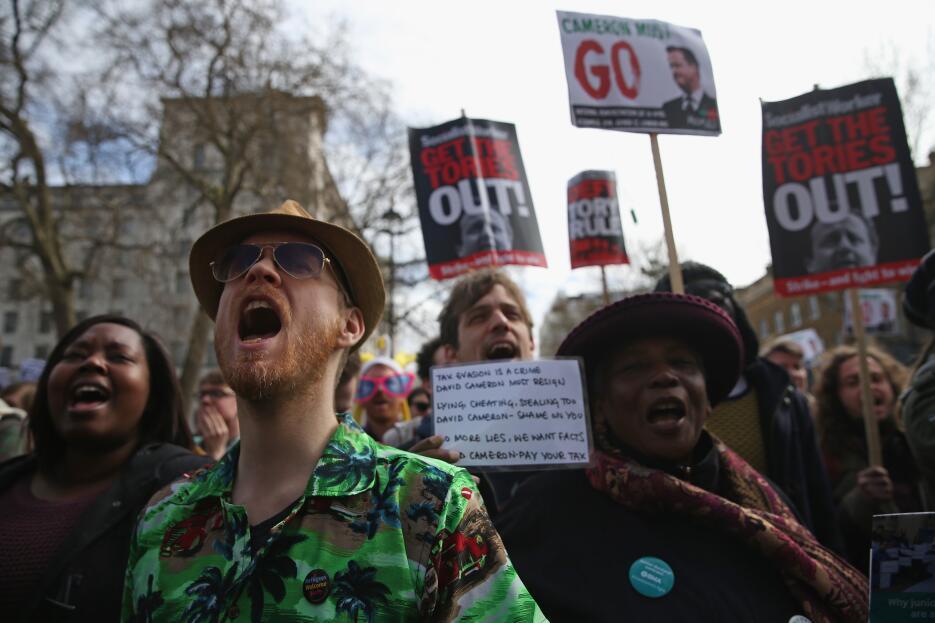 Protestan para pedir la dimisión de Cameron por los #PanamaPapers 5.jpg