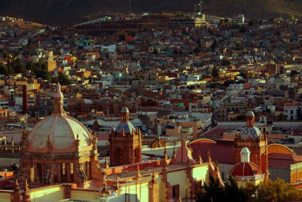 El noveno lugar lo tiene la colonial ciudad de Zacatecas, capital del es...