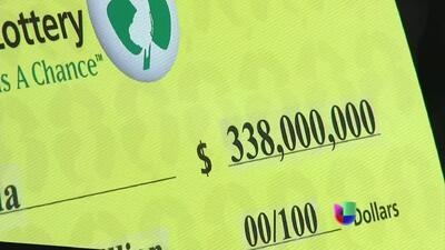 La lotería 'Powerball' ofrece un premio record calculado en $360 millones