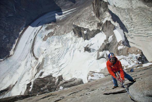 """David y su pareja de escalada Peter Ortner recibieron una """"menció..."""