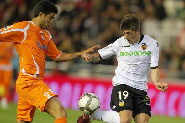 Valencia también tuvo actividad y lo hizo en su estadio ante el Xerez.
