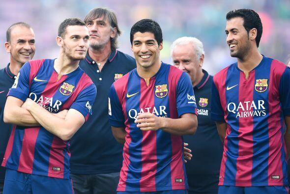 Su ex compañero en el Ajax y técnico del filial barcelonista Gabri Garcí...