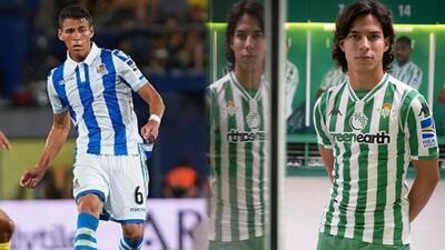 ¡Se viene el estreno! Diego Lainez fue confirmado en la banca para enfrentar a la Real Sociedad
