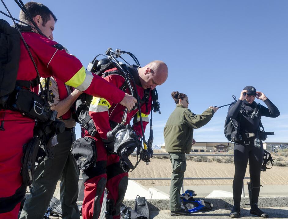 El operativo de rescate del Sheriff se suspendió el domingo 5 de marzo d...
