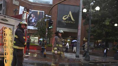 En fotos: Momentos de angustia tras la explosión en centro comercial Andino de Bogotá