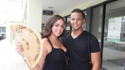 Elizabeth Peñalver y Peñalver y Yey Luis (José Canelles) fueron finalist...