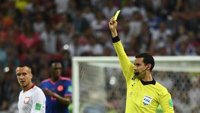 Justicia a punta de tarjetas: los árbitros que más han amonestado en el Mundial