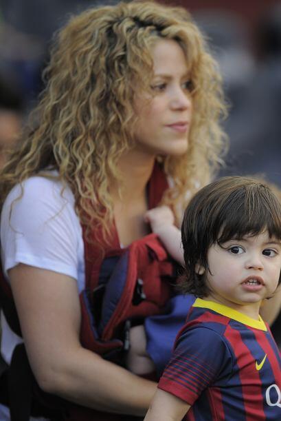 Shakira como mamá debe ayudar a Milan a comprender que él será el mayor...