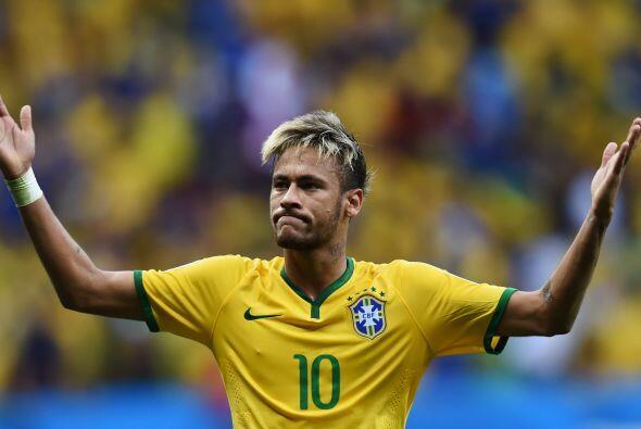 Neymar.- Llamado a ser el nuevo gran ídolo de Brasil, fue la gran figura...