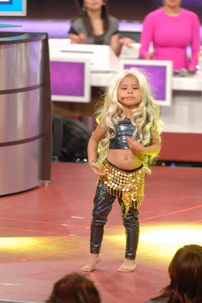 Nazli puso todo su empeño para que su pieza de baile saliera a la perfec...