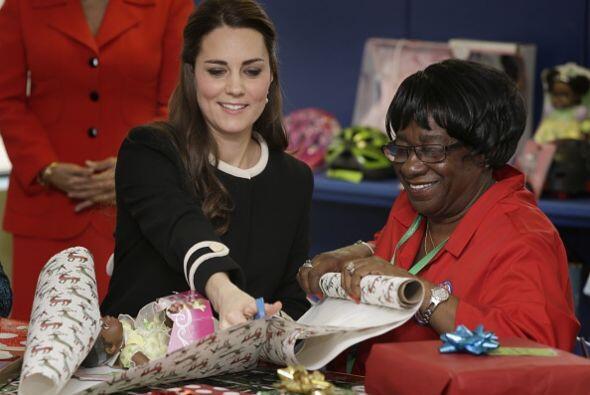 Definitivamente, Kate Middleton disfrutó cada minuto de su visita...
