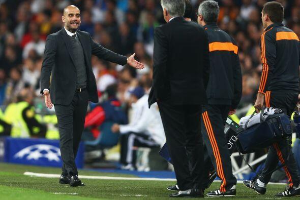 El choque entre Guardiola y Ancelotti fue un enfrentamiento de estilos e...