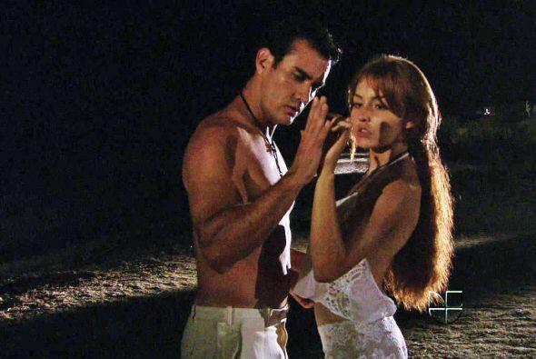 Elisa y Damián se entregaron al amor en repetidas ocasiones.