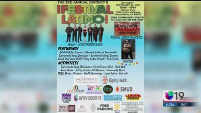 ¡No te pierdas el Festival Latino en el Distrito 8!