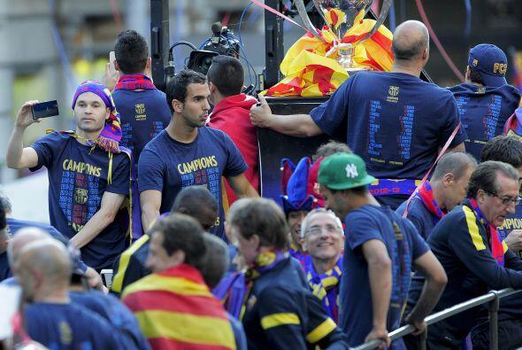 Una fiesta total la que se vivió en Barcelona, a falta de algunas...