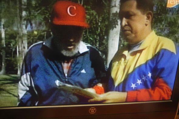 El expresidente de Cuba, Fidel Castro, que cumplió hace unos días 87 año...