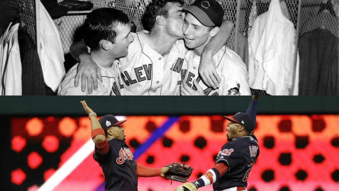 Las Series Mundiales de Indios de Cleveland de 1948 a 2016 AP-primera.jpg
