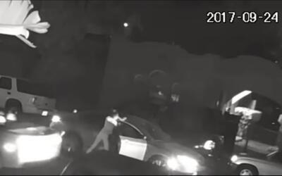 Un video muestra los instantes en que una mujer habría sido rapta...