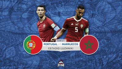 Cristiano busca encaminar a Portugal a octavos de final venciendo a Marruecos