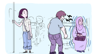 The comic by artist Marie-Shirine Yener