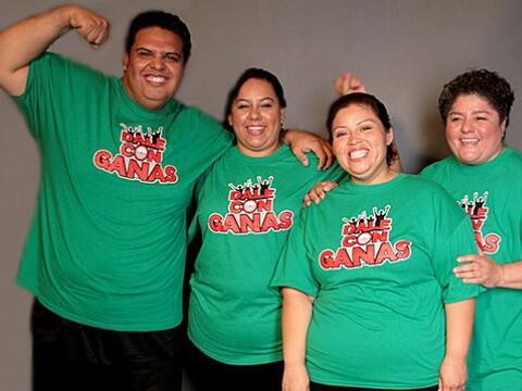 La familia Vigíl está integrada por Talia, Rosario, Janice...
