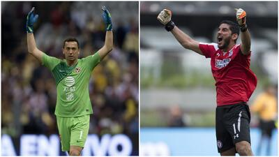 ¡El clásico en números! Comparativa entre Agustín Marchesín y Jesús Corona en el Apertura 2018
