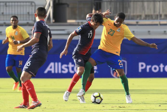 Costa Rica llega caminando a los Cuartos de Final tras golear a Guayana...