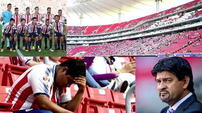 Crónica de un nuevo desastre: Chivas 1-2 Santos Laguna en el Estadio Akron