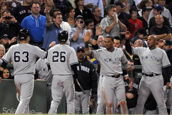 Al final, serían los Yankees quienes sacarían la victoria de Fenway Park.