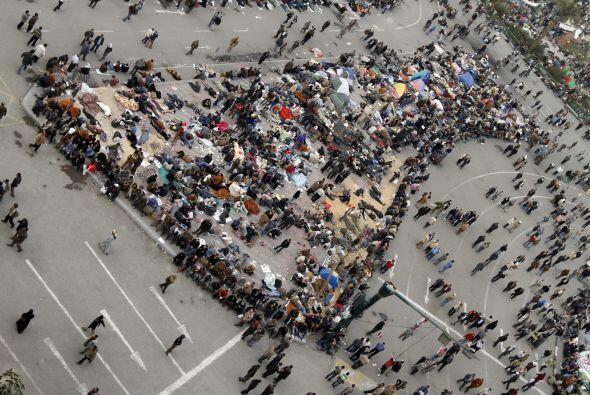 Se estima que los manifestantes sumaron alrededor de unos 100,000.