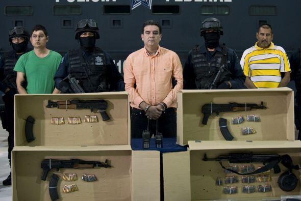Además, en octubre se decomisaron 134,2 toneladas de marihuana en Tijuan...