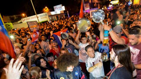 Miami celebrates the death of Fidel Castro.