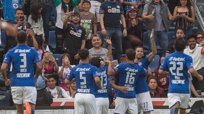 En Fotos: ¡El coaching funcionó! Cruz Azul ganó, goleó y convenció