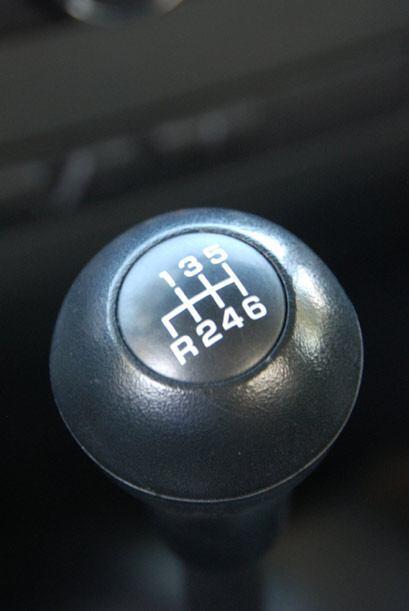 La transmisión de seis velocidades permite exprimir toda la fuerza del m...