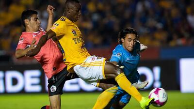 Con estos goles Tigres y Lobos BUAP dividieron puntos