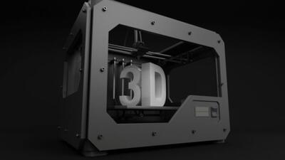 Las impresoras 3D pueden hacer cosas cada vez más grandes.