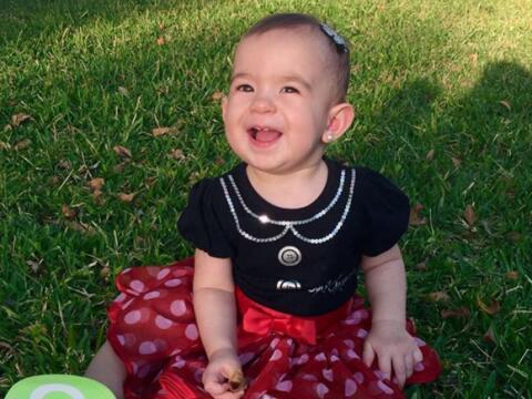 Baby Michelle, hija de Alan Tacher