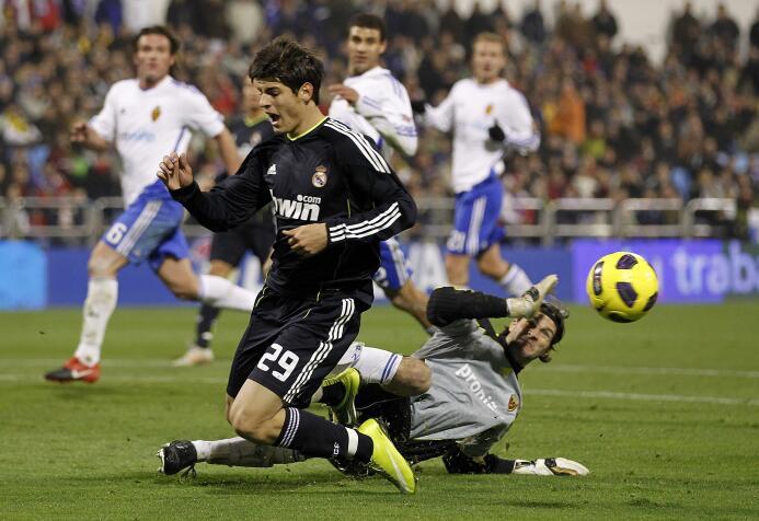Poca gente sabe que Álvaro Morata inició sus pasos en el fútbol como jug...
