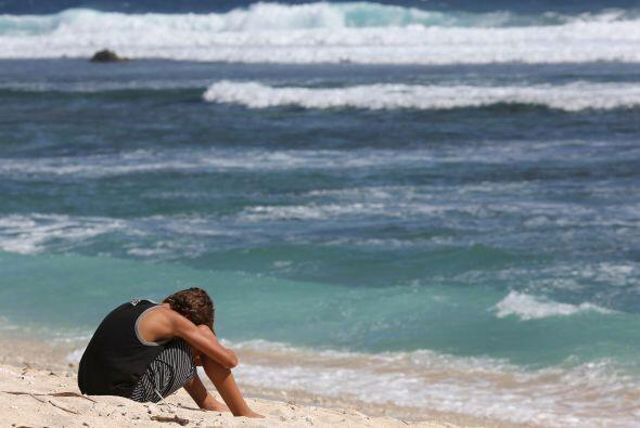 Un ciudadano francés de 36 años que practicaba surf muri&o...