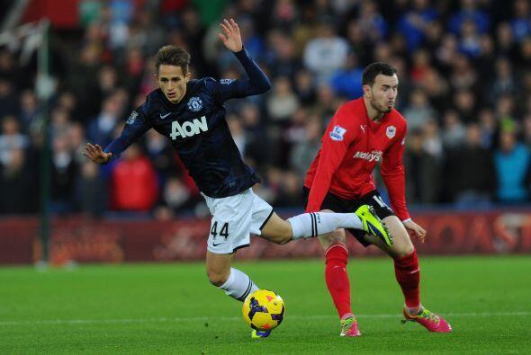 El Manchester United causaba alborotos en territorio galés con su visita...