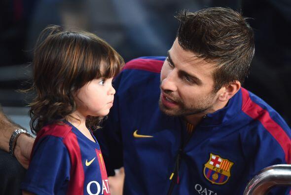 Gerard con el encantador Milan.