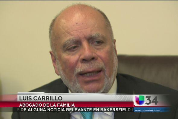 El abogado Luis Carillo hizo eco a las preguntas e inquietudes de la fam...