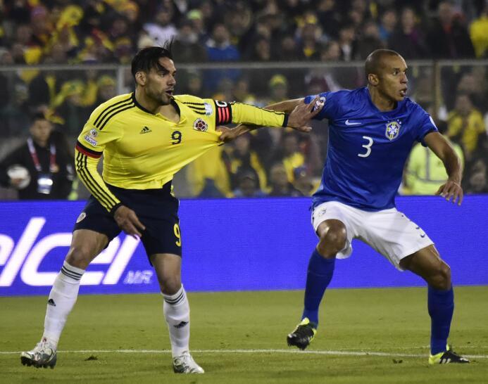 Brasil vs. Colombia