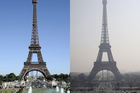 Mucho ha cambiado el entorno de la torre desde que fue inaugurada.