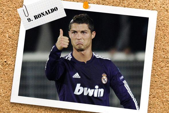 ¿Cómo iba a faltar el carisma, arrogancia y talento de Cristiano Ronaldo...