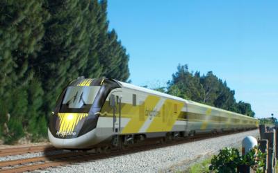 El sistema de trenes conectará a Miami con Fort Lauderdale, Palm...