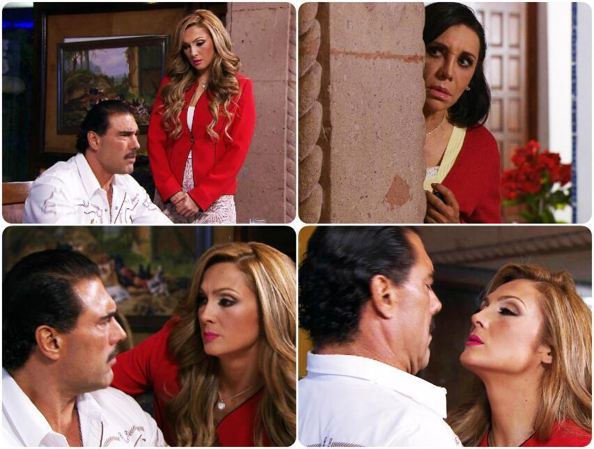 ¡Ojo María! Estefany está seduciendo a Facundo
