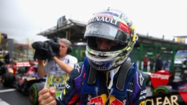 Sebastian Vettel saldrá primero en la última prueba de su campeonato.