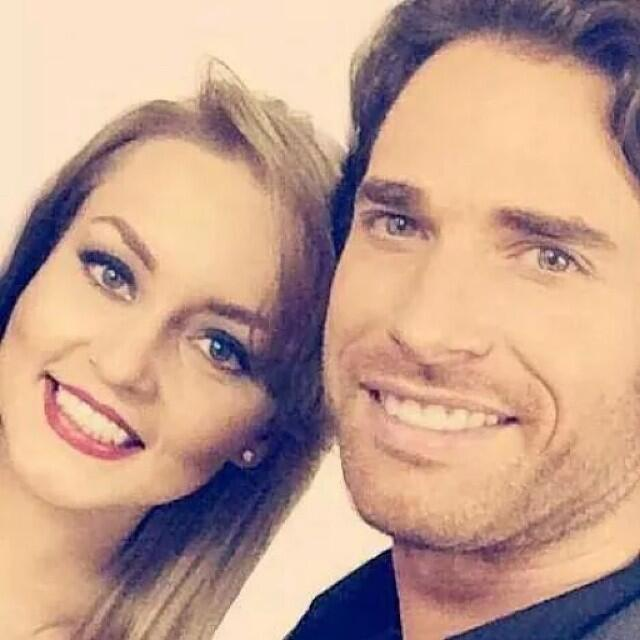 Angelique Boyer y Sebastián Rulli